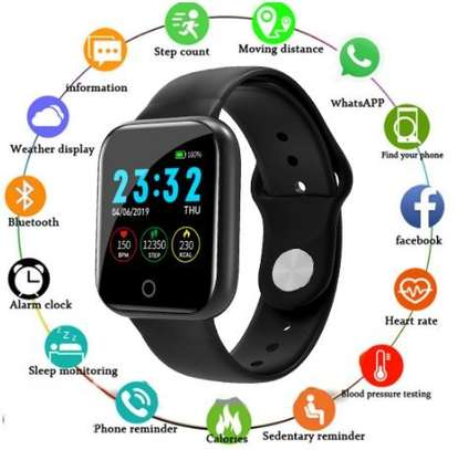 Heart Rate Sports Watch Activity Tracker i5 – Black image 5