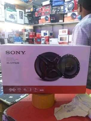 Sony XS-GTF1639 3-way speakers image 1