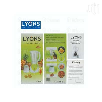 Lyons Blender 2 in 1 With Additional Grinder Machine 1.5L image 2