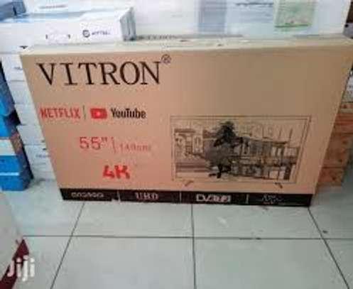 VITRON 55inch Smart Android 4k UHD Tv image 1