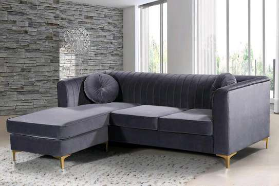 Four seater grey sofas for sale in Nairobi Kenya/Latest sofa set designs/Sofa Kenya image 1