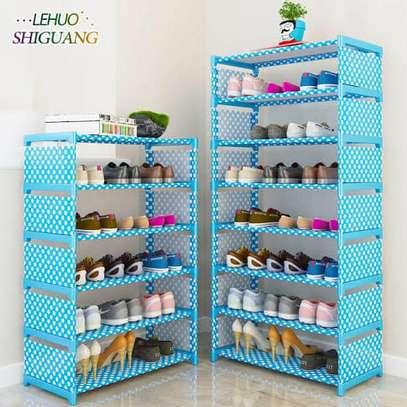 Single storage shoe rack image 2