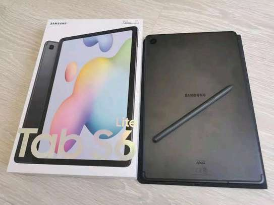 Samsung Tab S6 Lite 64gb 4gb ram 7040mAh battery 4G Tab(Stylus support) image 2