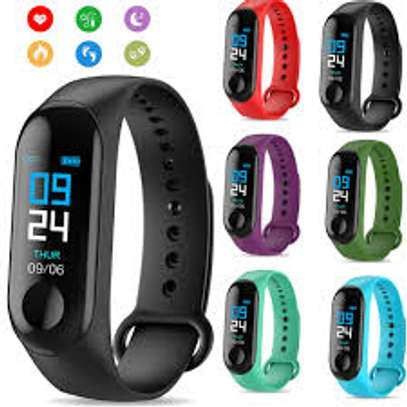 Heart Rate Monitor Blood Pressure Fitness Activity Tracker image 1