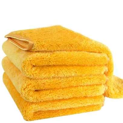 Microfibre bath towels image 1