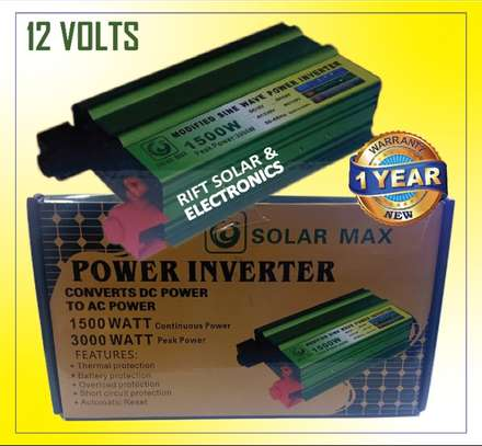 1500watts Solar Max Power inverter image 1