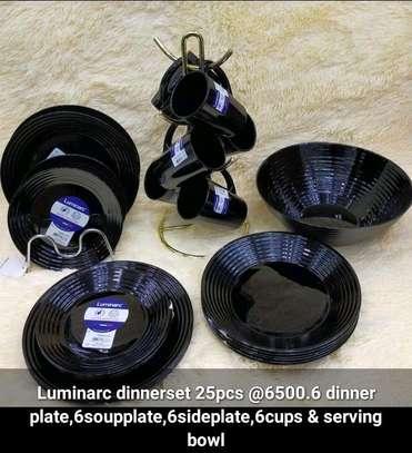 Original luminarc dinner set image 1