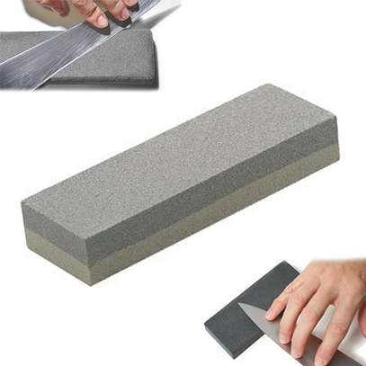 Double Sided Grit Knife Sharpening Oil Stone image 2
