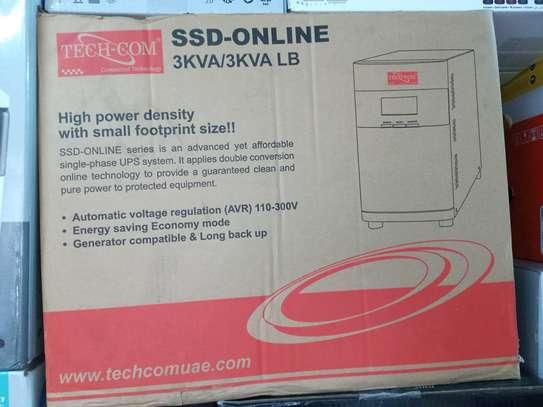 Tech com 3kva ssd online ups image 1