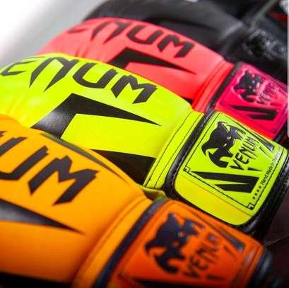 Elite venum boxing gloves image 1