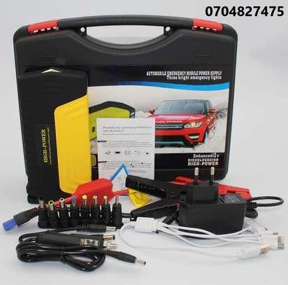 Car Jump Starter Kit with Air Compressor image 1