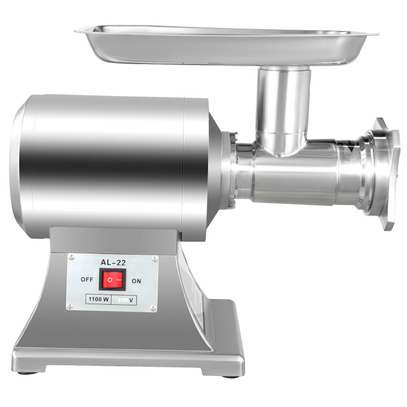 Commercial Grade 1HP Electric Meat Grinder 750W Stainless Steel Heavy Duty image 2