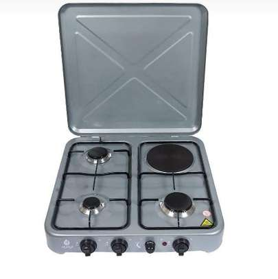 3gas plus 1 electric plate gas stove image 1