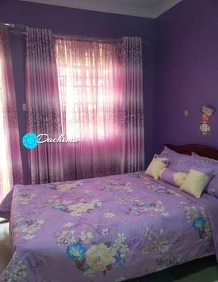 purple customized curtains image 1