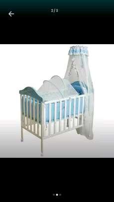 Metallic Baby Cot image 2