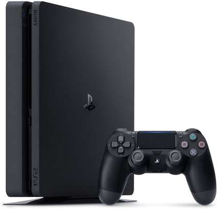 PlayStation 4 Slim 1TB Console with 2 free games image 1