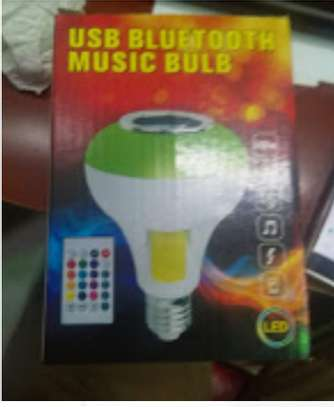 USB bluetooth music bulb image 1