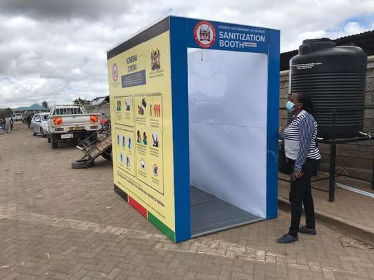 SANIBOOTH DELUXE - Sanitization Booth/ Tunnel Covid-19 image 4