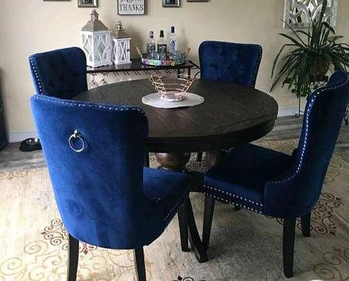 Dining set/roundtables Dining set/modern Dining set/dining table image 1