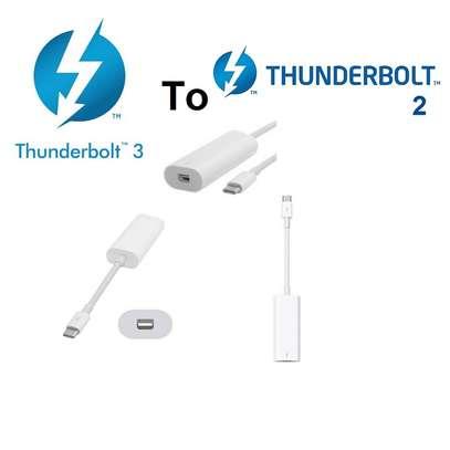 Apple Thunderbolt 3.0 (USB-C) to Thunderbolt 2 Adapter image 1