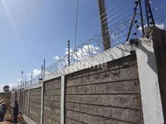 Electric fence for home security and Business image 2
