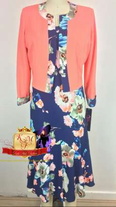 Floral Print Dress Suit Made in UK image 1