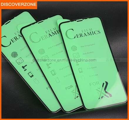 Ceramic 5D Full Glue Glass Protector Flexible Anti-Break,Anti-Fingerprint for iPhone X  XS image 1