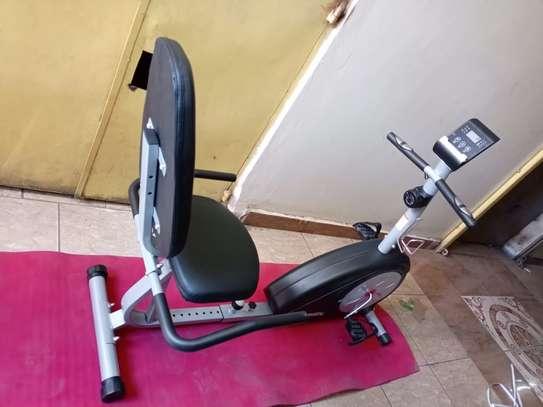 Recumbent bike image 1