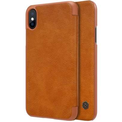 Nillkin Qin Series Leather Case for iPhone X / iPhone XS