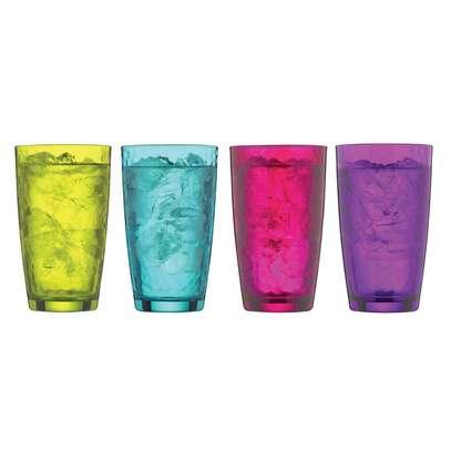 set of four highballs glasses image 1