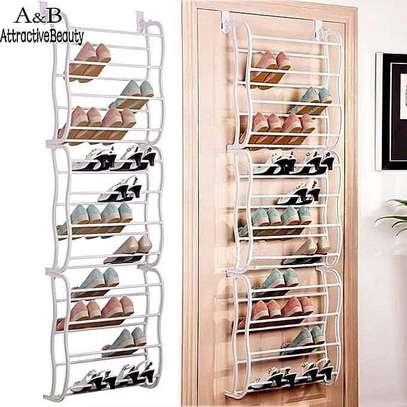 Over the door shoe rack image 1