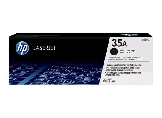 HP 35A Black Original LaserJet Toner Cartridge(CB435A)