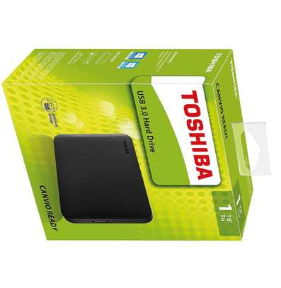 Toshiba 1TB (1000GB) USB 3.0 External Harddisk image 1