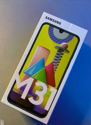 """Samsung Galaxy M31,6.4"""",128GB+6GB RAM,6000mAh,Dual SIM,4G-Black image 1"""
