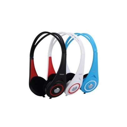 shuer Dynamic Super Bass Single Pin Wired Headphones 1.5 Meter, SE-023 image 1