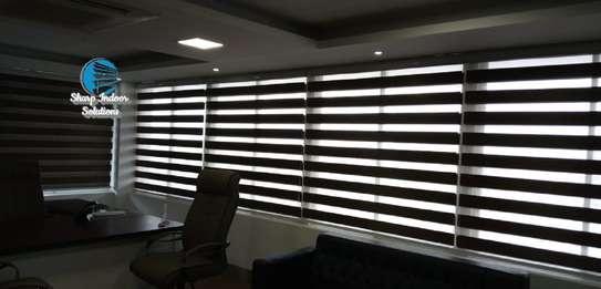 zebra polyester blinds image 1