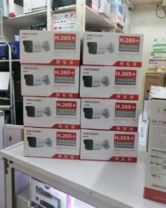 Eight 8  Hikvision 2MP IP CCTV Cameras Complete System  Kit image 1