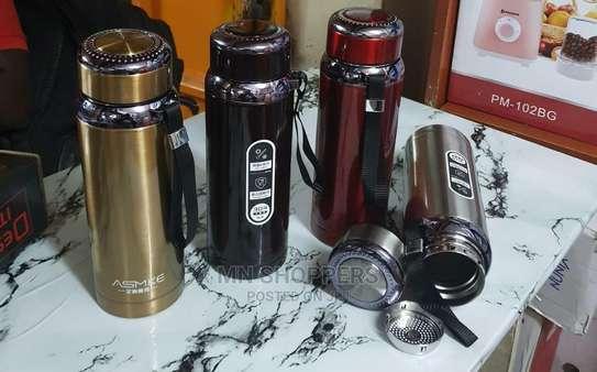 800ml Unbreakable Vacuum Bottles image 1