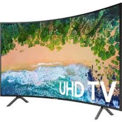 Samsung New 55 inches Curved 55TU8300 UHD-4K Smart Digital TVs image 1