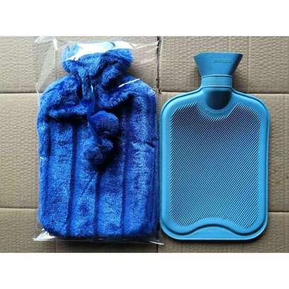 Fashion Hot Water Bottle With Fur Plush Cover -2L image 1