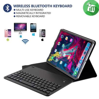 Bluetooth Keyboard Case For iPad Pro 11 inch 2018 Removable Wireless Keyboard PU Leather Tablet Stand Cove image 5