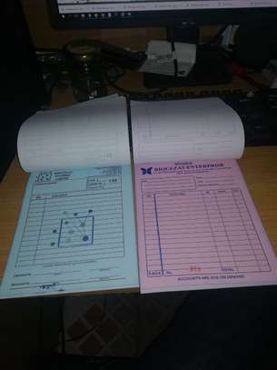 RECEIPT/ DELIVERY NOTE/ INVOICE/ CASH SALE DESIGNING & PRINTING. image 5