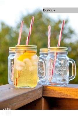 Mason Juice Smoothie Drink Kid Child Adult Home Party Mug image 7