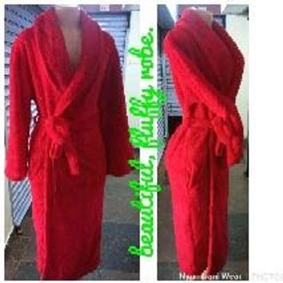 Ladies fleece robes