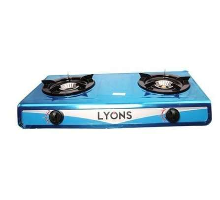 Stainless steel gas stove image 1