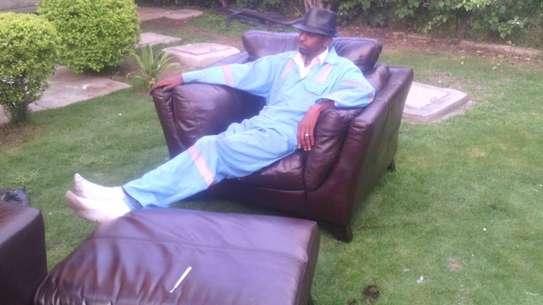 Leather Sofa Dye and Seat Repair image 11