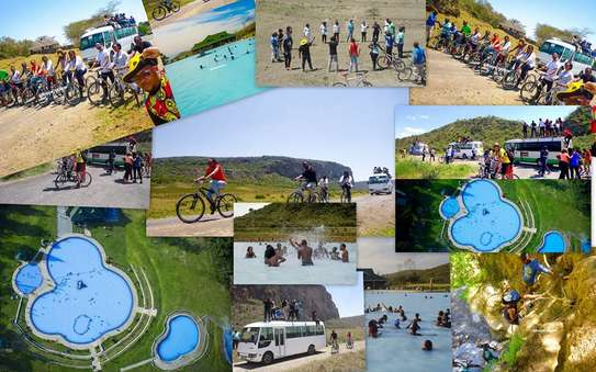 Olkaria Hot Spa Swimming & Hells Gate Game Drive/ Cycling (No Gorges); April 4th