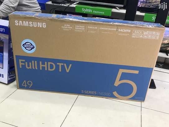 Brand new Samsung TVs 49inch smart Full-HD tv 5series image 1