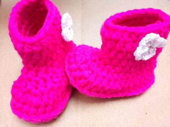 Crotched baby shoe image 4