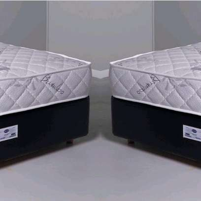 Single Bed 4 by 6 Bed Set: Orthopaedic/Posturepaedic 10 thick Quilted Mattress+Bed brand new free delivery image 1